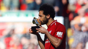 Le joueur de Liverpool Mohamed Salah bat le record de but pour une saison de Premier League.