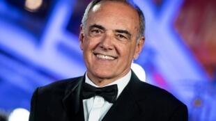 Alberto Barbera, le directeur de la Mostra 2020, a annoncé le 28 juillet les films en compétition de la 77e édition du plus ancien festival international de cinéma. Ici en 2019.
