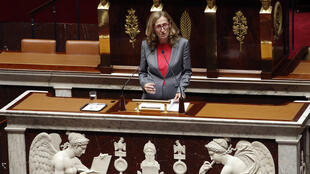 French Justice Minister Nicole Belloubet opens the clean-government debate earlier this month