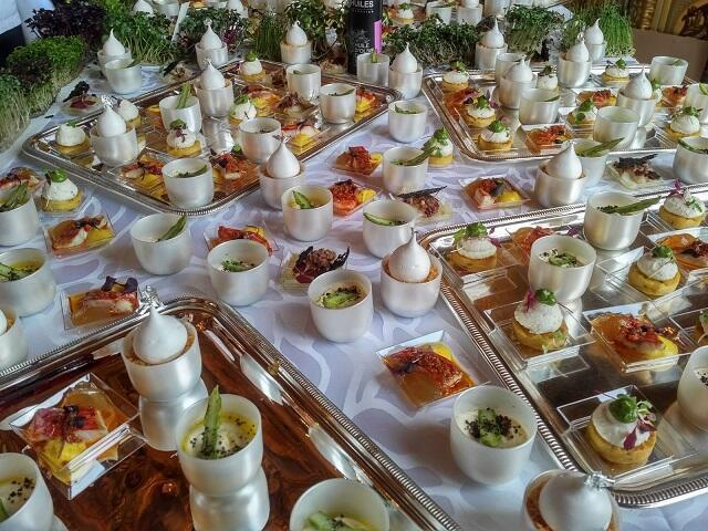 Delicias preparadas por el chef Sébastien Richard.