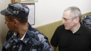 Последнее появление М. Ходорковского в московском суде 02/06/2011
