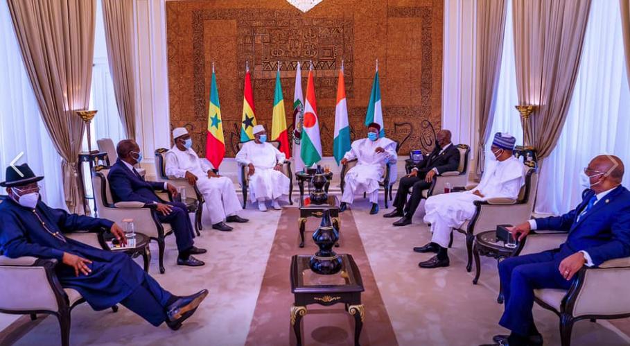 ECOWAS leaders meeting in Bamako, Mali