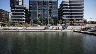 L'éco-quartier Confluence, à Lyon.