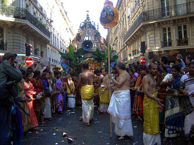 The celebration of Ganesh, Paris