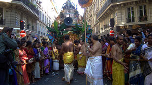 The celebration of Ganesh, Paris