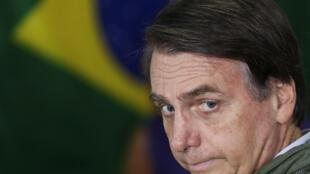 Jair Bolsonaro a été élu, le 28 octobre 2018, avec un peu plus de 55 % des votes.