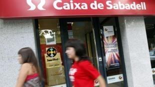 ធនាគារ Caixa de Sabadell របស់អេស្ប៉ាញ ដែលធ្លាក់ Stress Tests