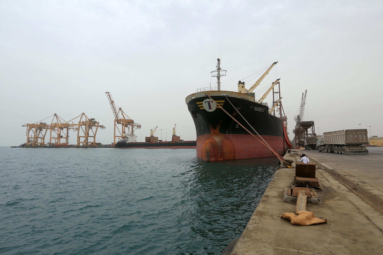 Le port yéménite d'Hodeida sur la mer Rouge.