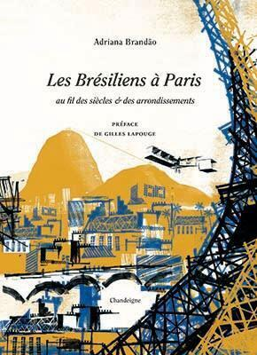 """Capa do livro """"Les Brésiliens à Paris"""""""
