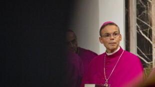 """Monsenhor Franz-Peter Tebartz-van Elst, chamado de """"bispo de luxo"""" pela imprensa alemã."""