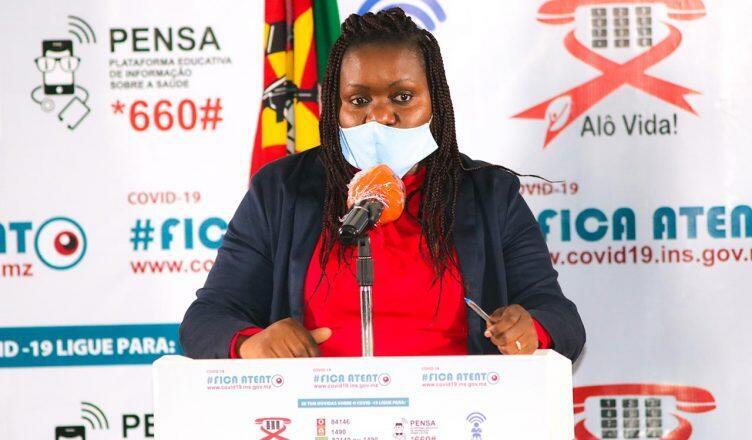Benigna Matsinhe,Directora Nacional Adjunta de Saúde Pública.
