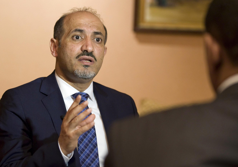 احمد جربا در گفتوگو با خبرگزاری رویترز