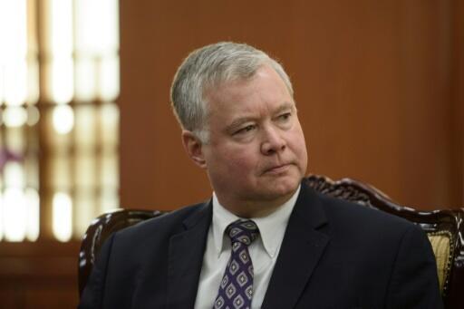 美國國務院常務副國務卿兼對朝特別代表比根