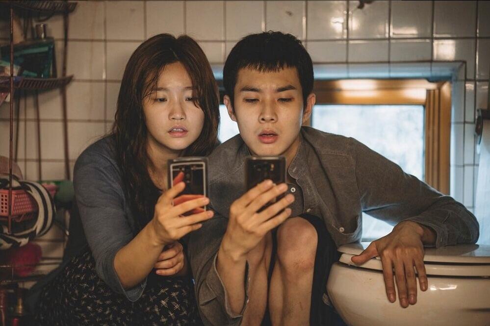 Cảnh phim Parasite (Ký sinh trùng) của đạo diễn Bong Joon-ho
