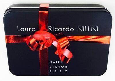Cartel de una exposición de Laura y Ricardo Nilni