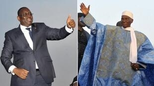 Macky Sall da Abdoudlaye Wade zasu tafi zabe zagaye na biyu