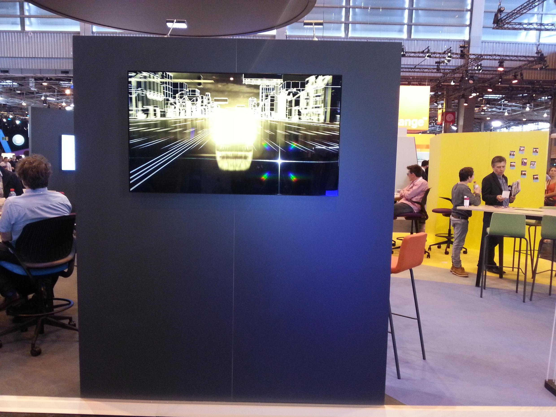 Robótica, segurança informatica, eletrónica, telemática e dinâmica de robôs salão de Paris 2016
