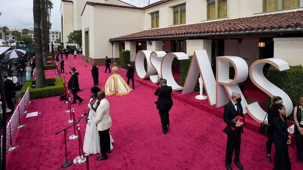 فرش قرمز اسکار در یونیون استیشن لس آنجلس
