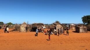 Le village de Soamanitra, dans l'extrême sud de Madagascar.