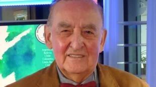 El diplomático y escritor boliviano Carlos Antonio Carrasco en RFI