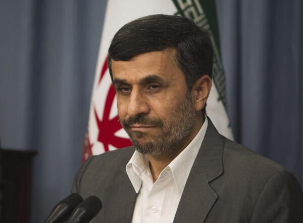 Tsohon shugaban kasar Iran Mahmud Ahmadinejad