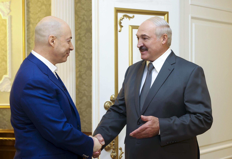 Александр Лукашенко с украинским журналистом Дмитрием Гордоном. Минск, 5 августа 2020