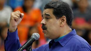 Rais anayemaliza muda wake nchini Venezuela, Nicolas Maduro, ni mgombea katika uchaguzi wa Aprili 22, 2018.