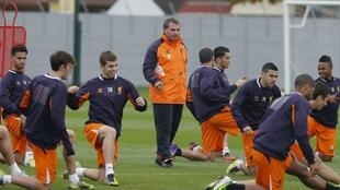 Тренировка «Ливерпуля», 24 октября 2012 года