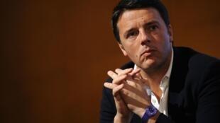 Matteo Renzi, le nouveau secrétaire du Parti démocrate italien , dimanche 8 décembre 2013.