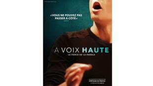 Affiche du film «A voix haute», de Stéphane de Freitas.