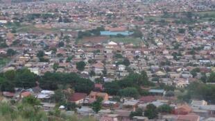 Le «township» de Mamelodi, en Afrique du Sud.
