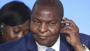 Presidente cessante,Touadéra, reeleito, na República centro-africana