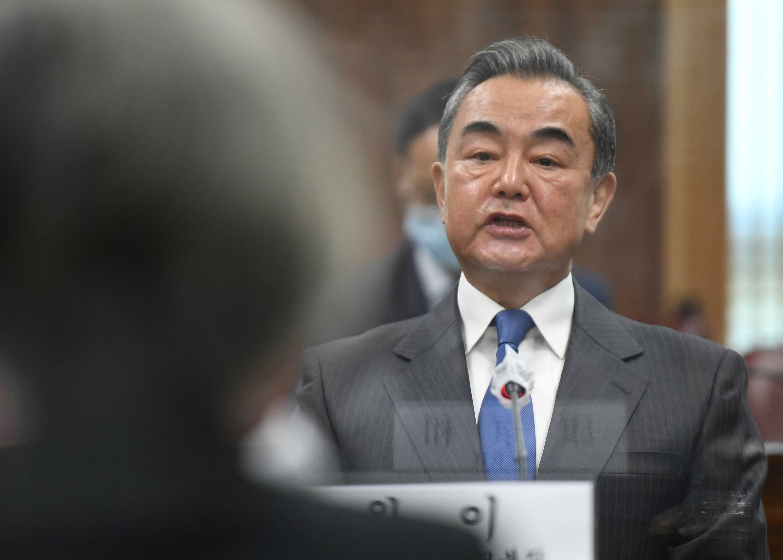 法广存档图片:中国外长王毅 Image d'archive RFI : Chinese Foreign Minister Wang Yi,