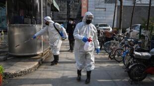 La ville de Wuhan et sa région, épicentre de l'épidémie, sont coupées du monde depuis le 23 février 2020.