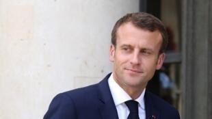 El presidente Emmanuel Macron tiene que afrontar varios desafíos en su segundo año.
