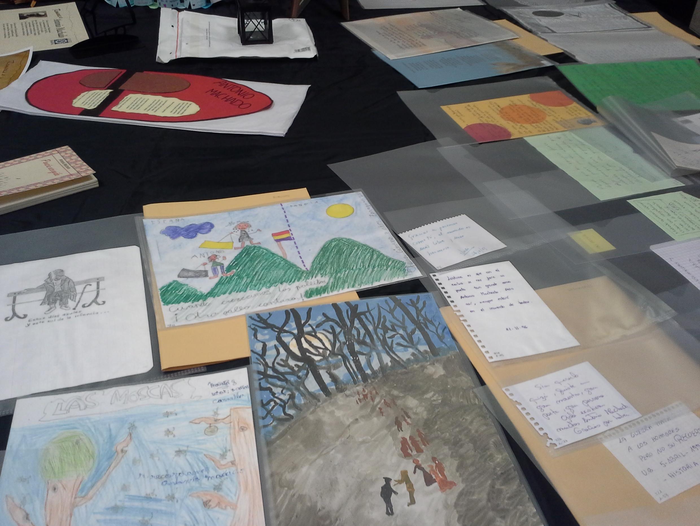 Algunos documentos que se conservan en la Fundación Antonio Machado.