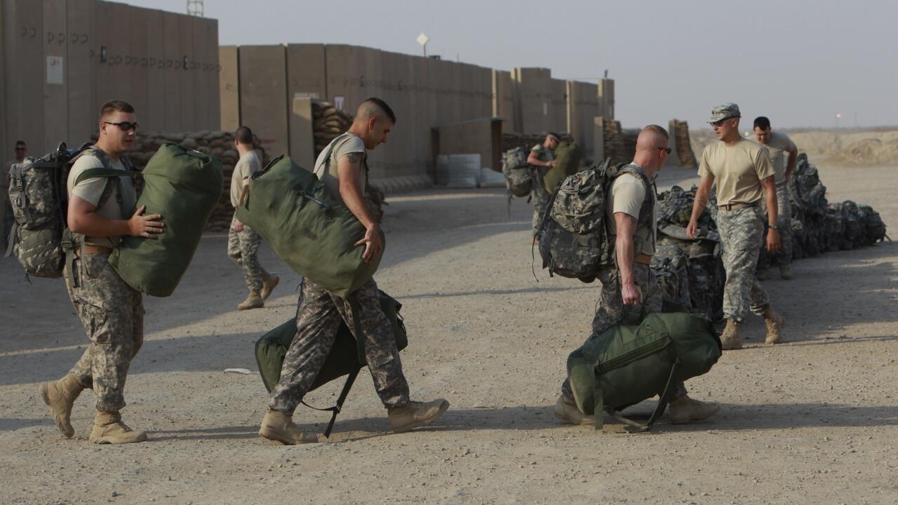 Tropas americanas no Iraque são reduzidas a menos de 50 mil soldados