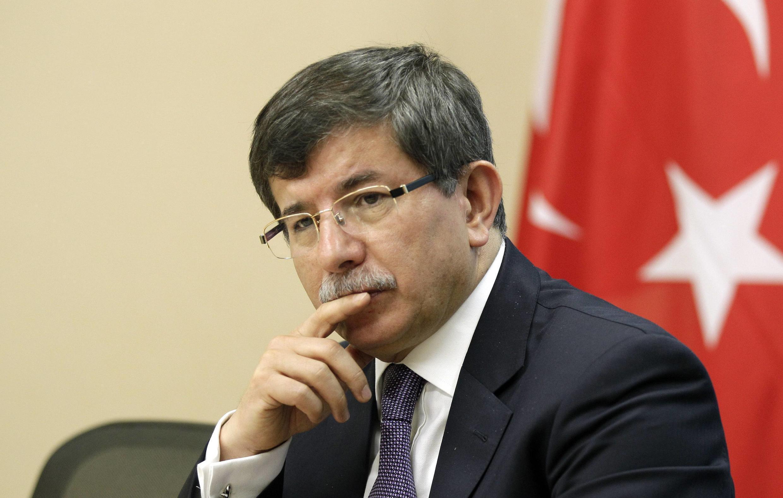 Waziri mkuu wa Uturuki Ahmet Davutoglu