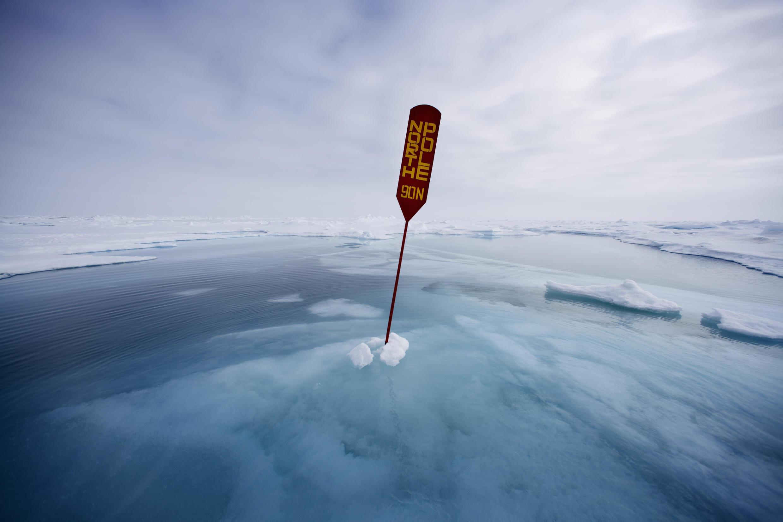 Le pôle Nord.