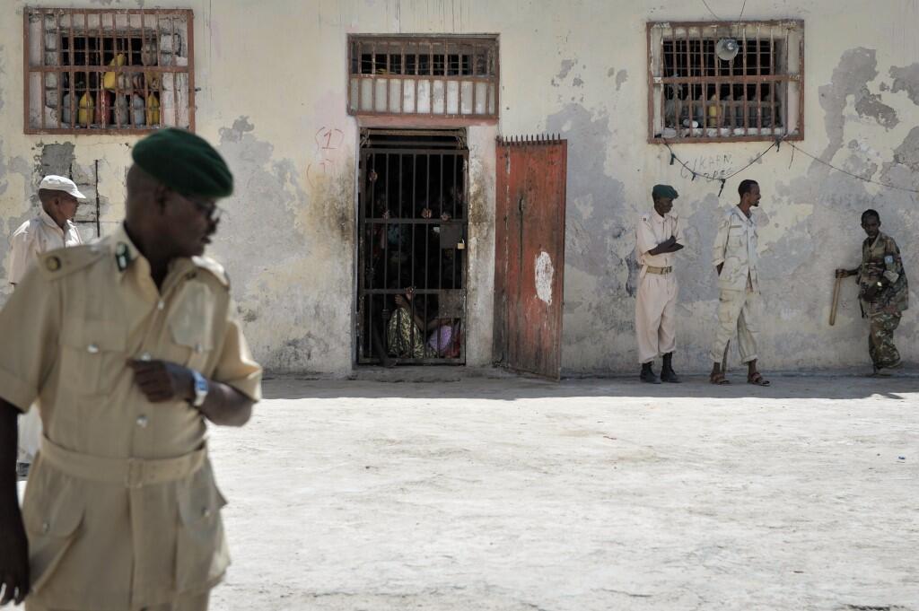 Gereza Kuu la Mogadishu, mwaka 2013.