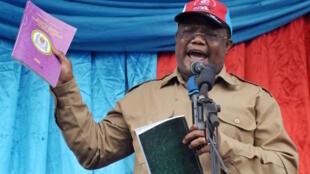 Mwanasheria mkuu wa chama cha upinzani nchini Tanzania, CHADEMA, Tundu Lissu picha ya maktaba