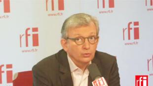 Pierre Laurent, secrétaire national du Parti communiste français, président du Parti de la gauche européenne et sénateur de Paris.