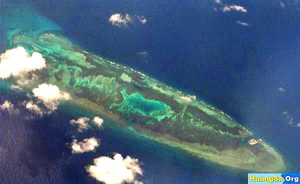 Đá Chữ Thập mà Trung Quốc gọi là Vĩnh Thử Tiều ( Yongshu Reef ) là đảo đầu tiên có đường băng cho máy bay cất cánh và hạ cánh - DR