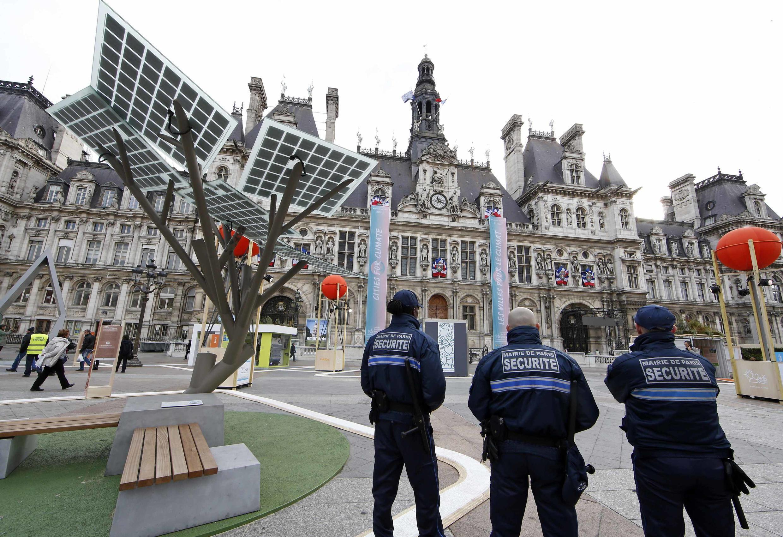 Экологическая выставка «Париж будущего», мэрия Парижа, 30 ноября 2015 года