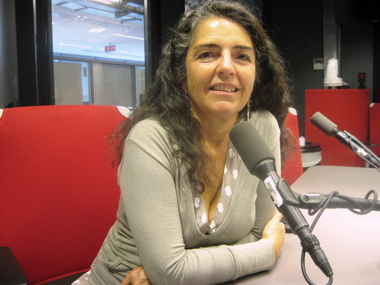 Gabriela Barrenechea en RFI.