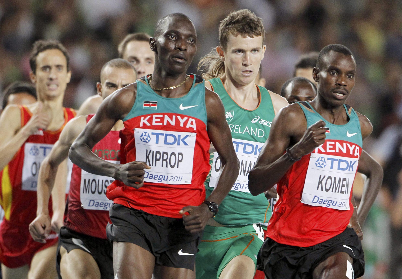 Asbel Kiprop a contrôlé les demi-finales du 1 500 mètres.