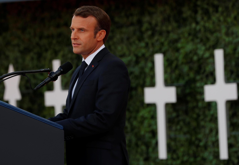 Cerimônia na Normandia com presença de Trump e Macron lembra os 75 anos do desembarque dos aliados.