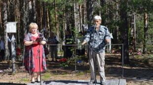 Юрий Дмитриев в «Сандармохе»