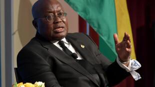 Le président ghanéen Nana Akufo-Addo, président en exercice de la Cédéao, vient notamment à Bamako discuter de la suite de la transition. (image d'illustration)