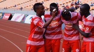 Wachezaji wa klabu ya Simba FC nchini Tanzania